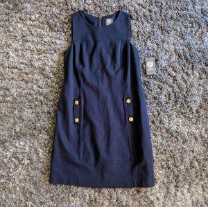 NWT Vince Camuto navy shift dress